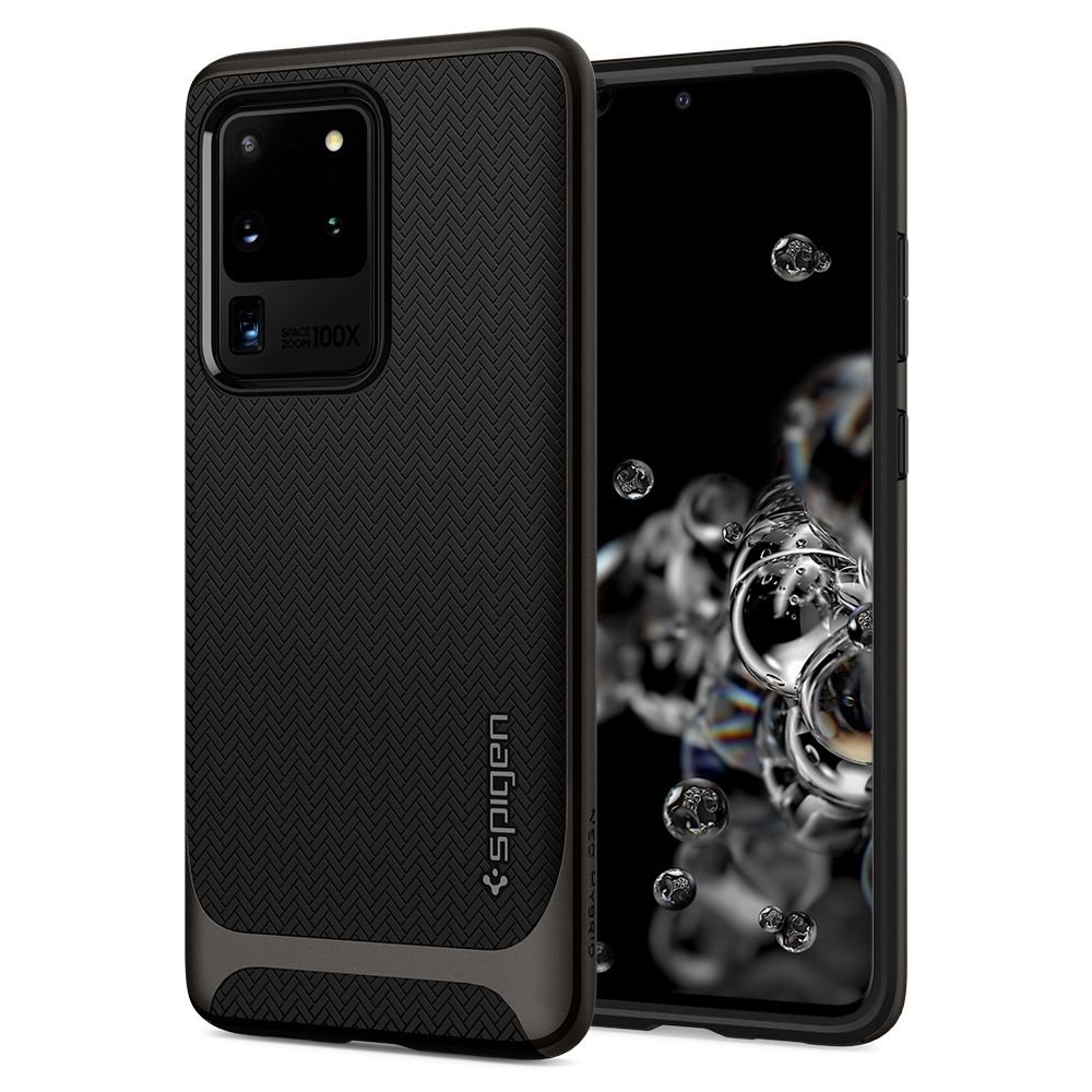 Spigen Θήκη Neo Hybrid Samsung Galaxy S20 Ultra - Gunmetal (ACS00718)