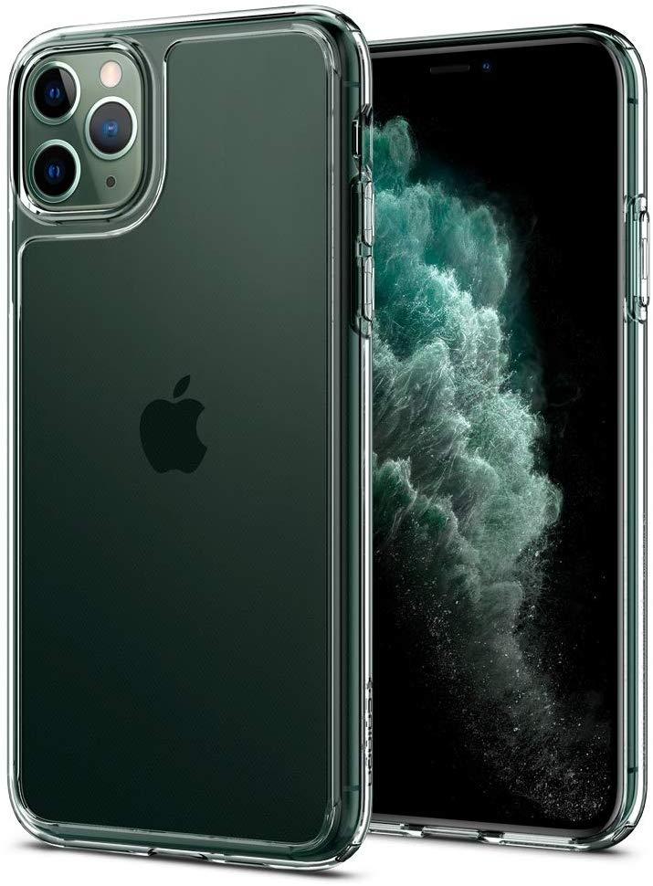 Spigen Quartz Hybrid Θήκη iPhone 11 Pro Max - Crystal Clear (075CS27425)
