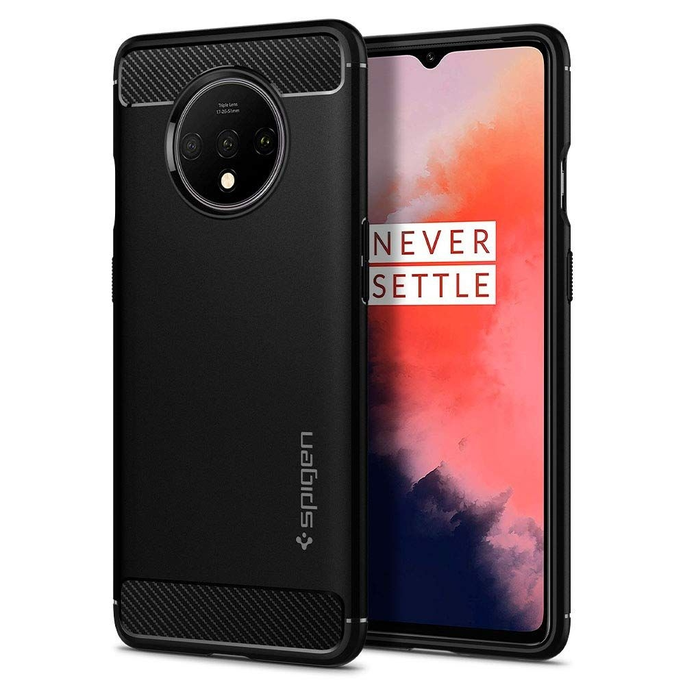 Spigen Θήκη Rugged Armor OnePlus 7T - Black (ACS00316)