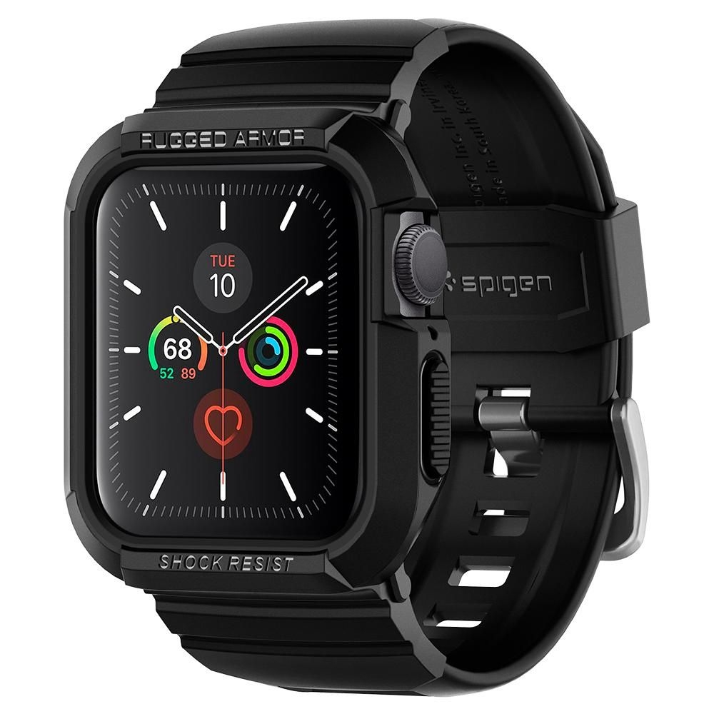 Spigen Θήκη Rugged Armor Pro Apple Watch 5/4 (40mm) - Black (ACS00546)
