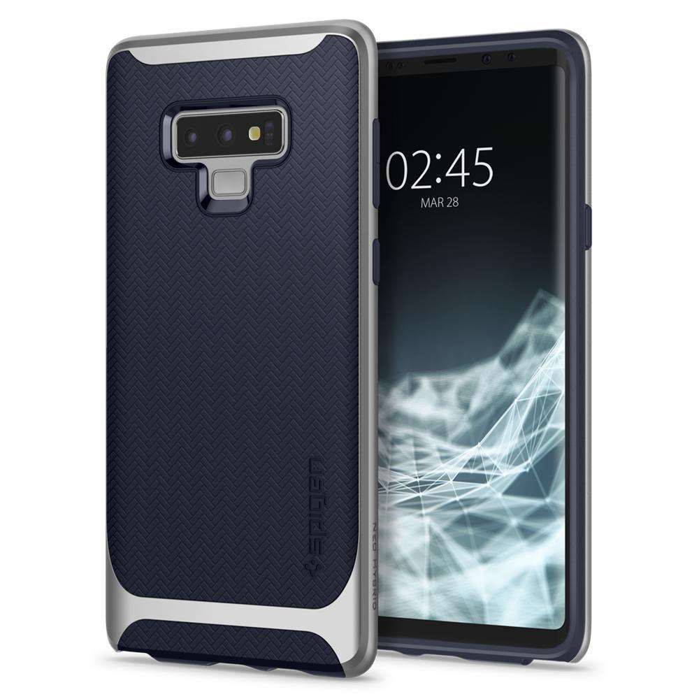 Spigen Θήκη Neo Hybrid Samsung Galaxy Note 9 - Arctic Silver (599CS24593)