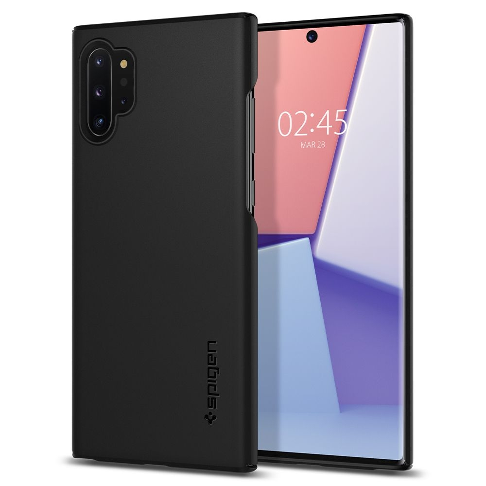 Spigen Θήκη Thin Fit Samsung Galaxy Note 10 Plus - Black (627CS27325)