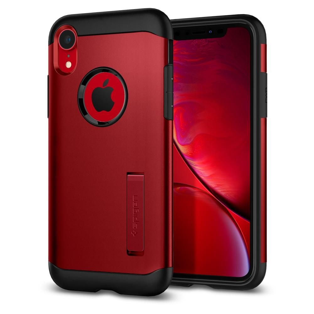 Spigen Slim Armor Θήκη iPhone XR - Merlot Red (064CS25148)
