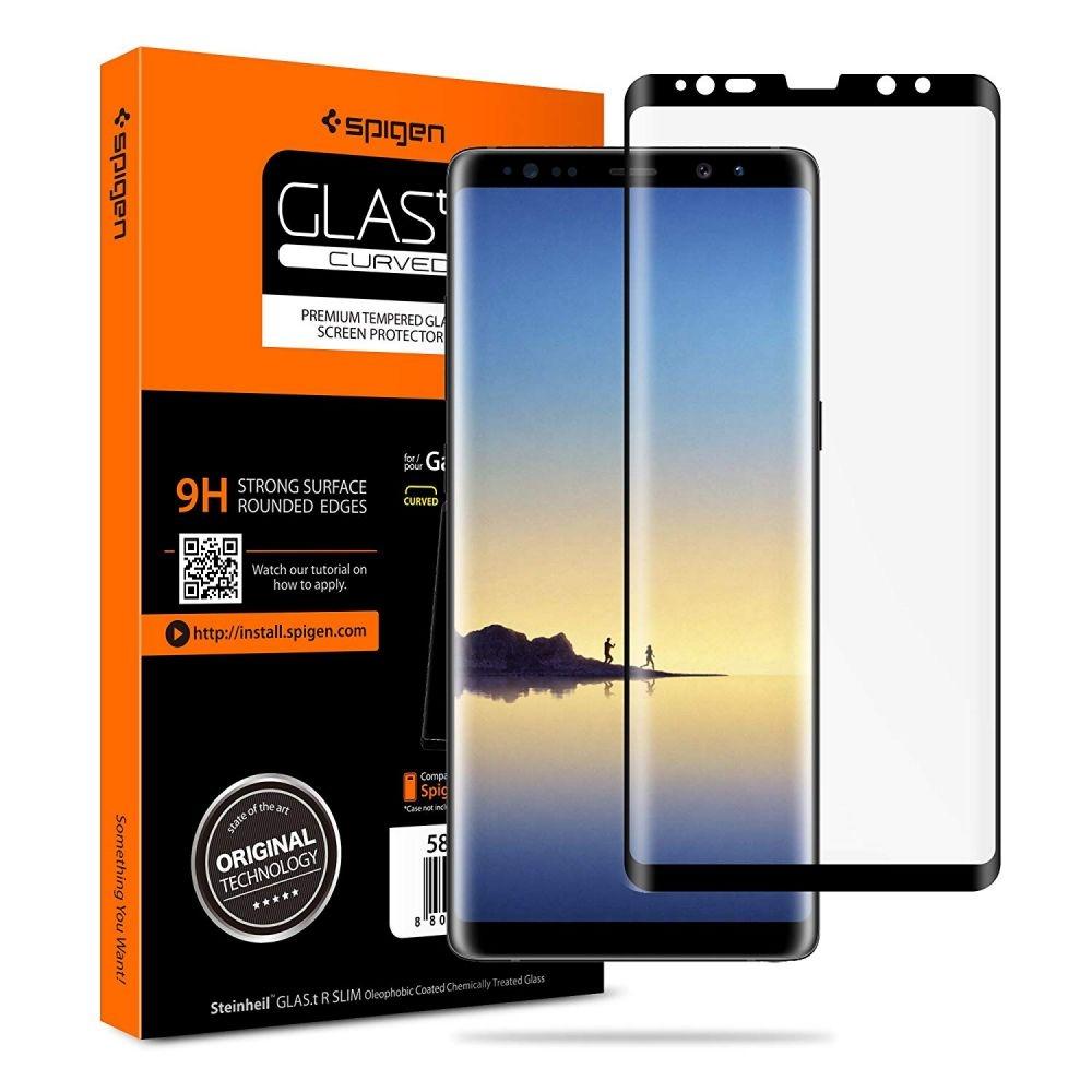 Spigen Tempered Glass Samsung Galaxy Note 8 GLAS.tR Curved (587GL22612)