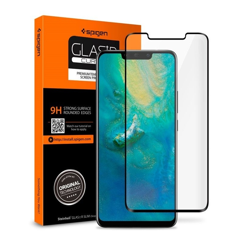 Spigen Tempered Glass GLAS.tR Curved - Αντιχαρακτικό γυαλί οθόνης Huawei Mate 20 Pro (L34GL25408)