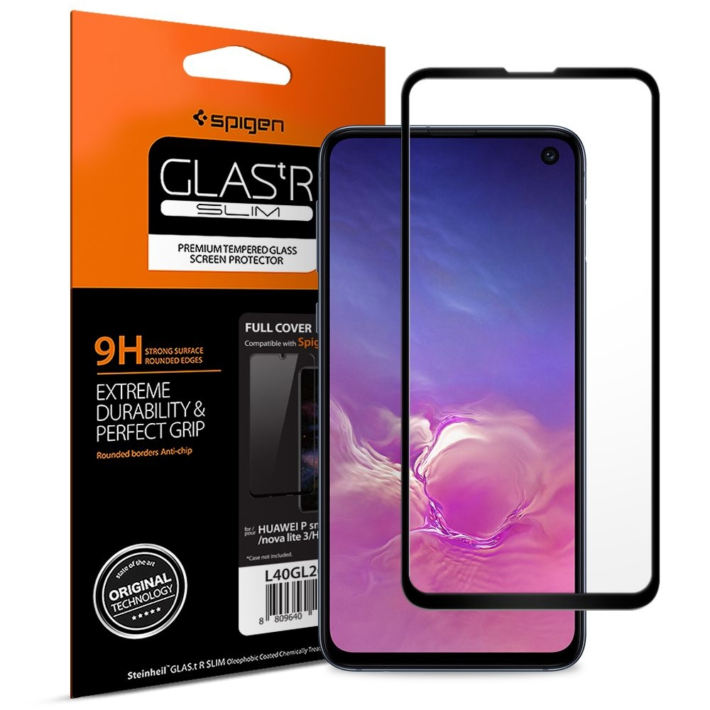 Spigen Premium Tempered Glass - Αντιχαρακτικό Γυάλινο Screen Protector Samsung Galaxy S10e - Full Cover (609GL26003)
