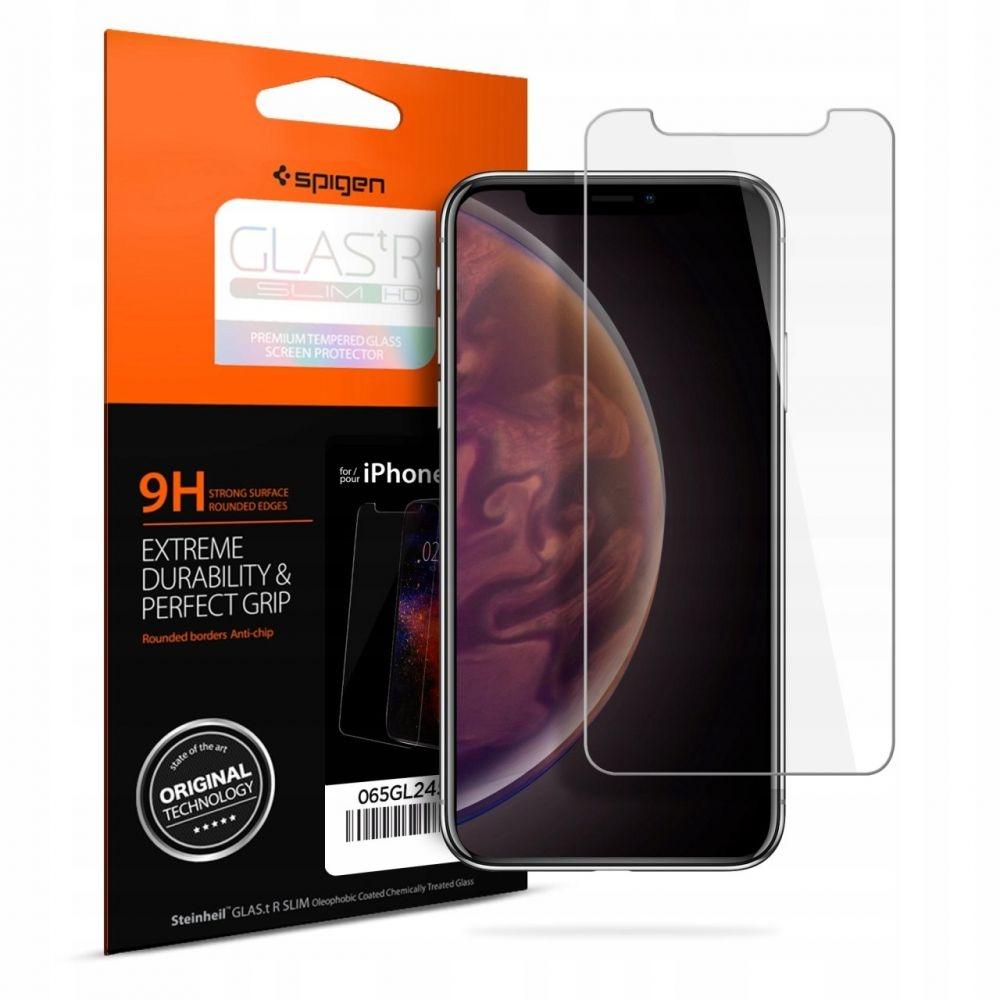Spigen Tempered Glass GLAS.tR Slim iPhone XS Max (065GL24540)