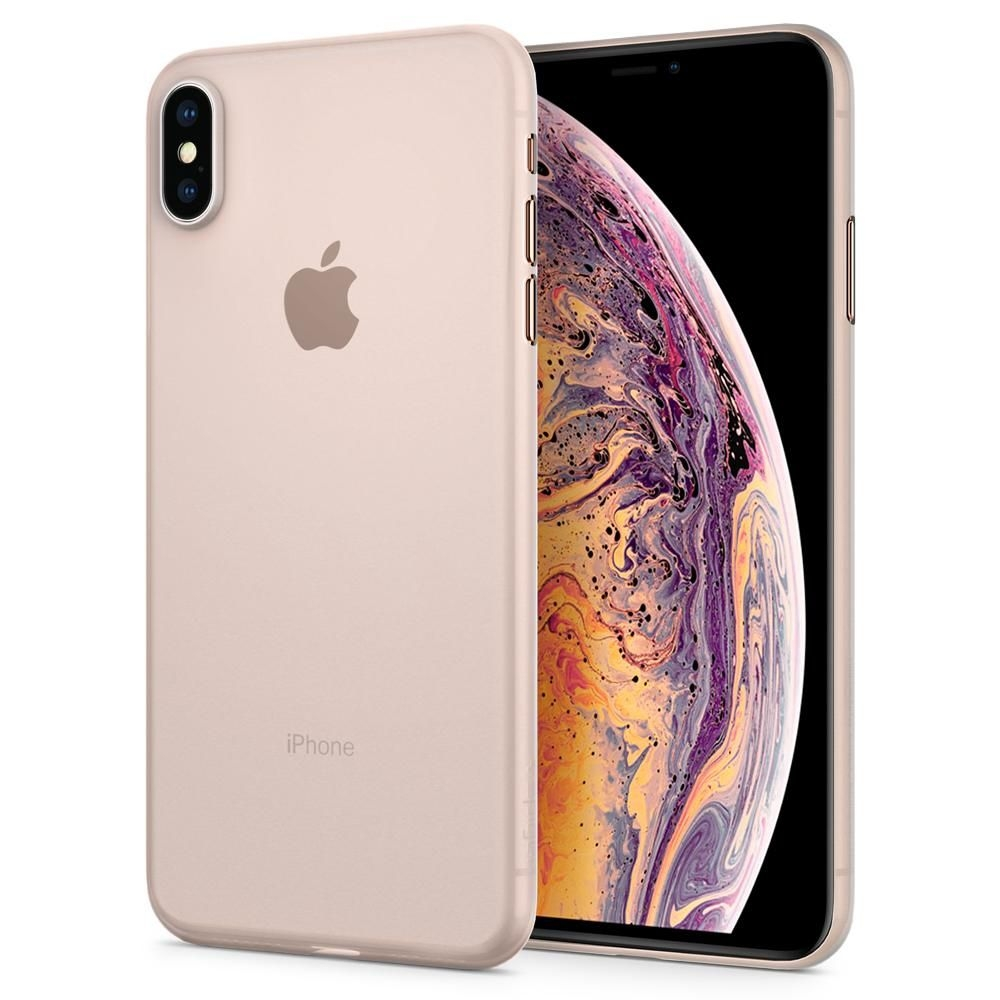 Spigen Θήκη Air Skin iPhone XS Max - Soft Clear (065CS24829)