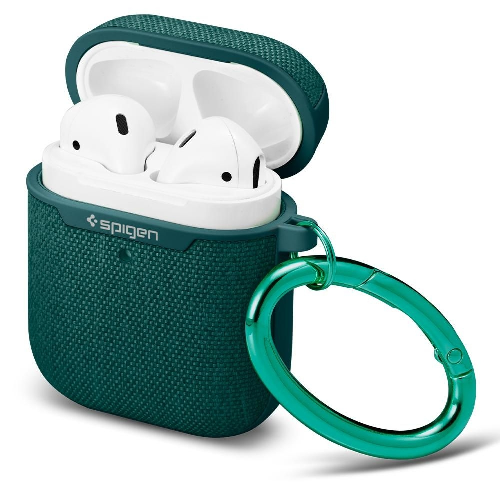 Spigen Urban Fit Σκληρή Θήκη Apple Airpods 2nd Gen/1st Gen - Midnight Green (ASD00678)