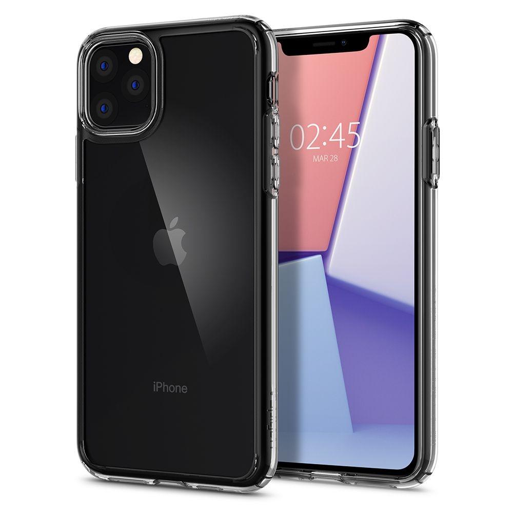 Spigen Crystal Hybrid Θήκη iPhone 11 Pro Max - Crystal Clear (075CS27062)