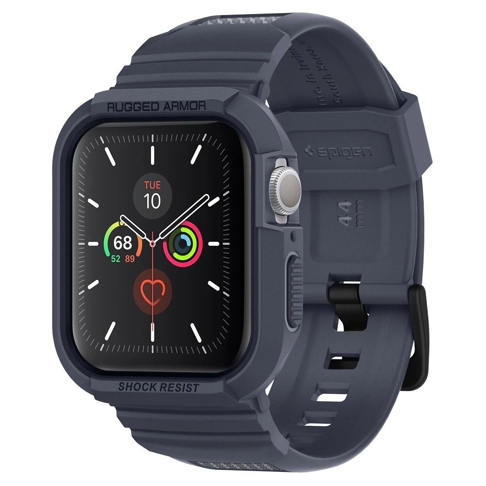Spigen Θήκη Rugged Armor Pro Apple Watch 5/43/2/1 (44mm) - Charcoal Grey (ACS00819)