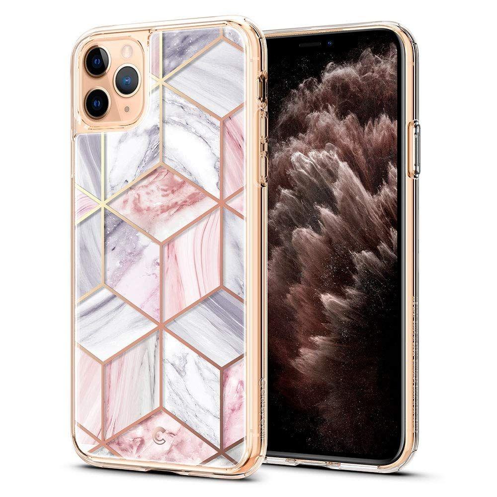 Spigen Θήκη Ciel Etoile iPhone 11 Pro Max - Pink Marble (075CS27173)