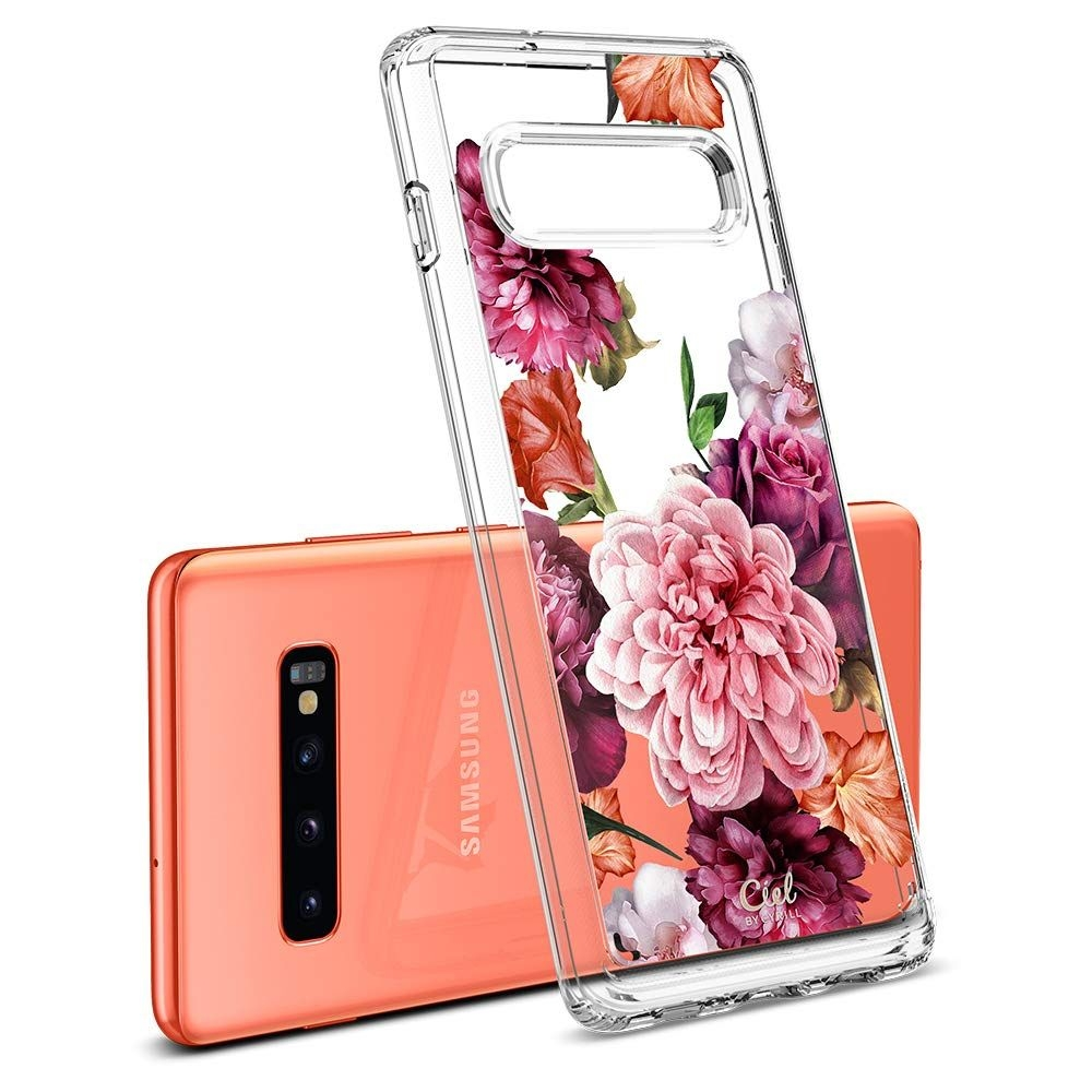 Spigen Θήκη Ciel Samsung Galaxy S10 Plus - Rose Floral (606CS25788)
