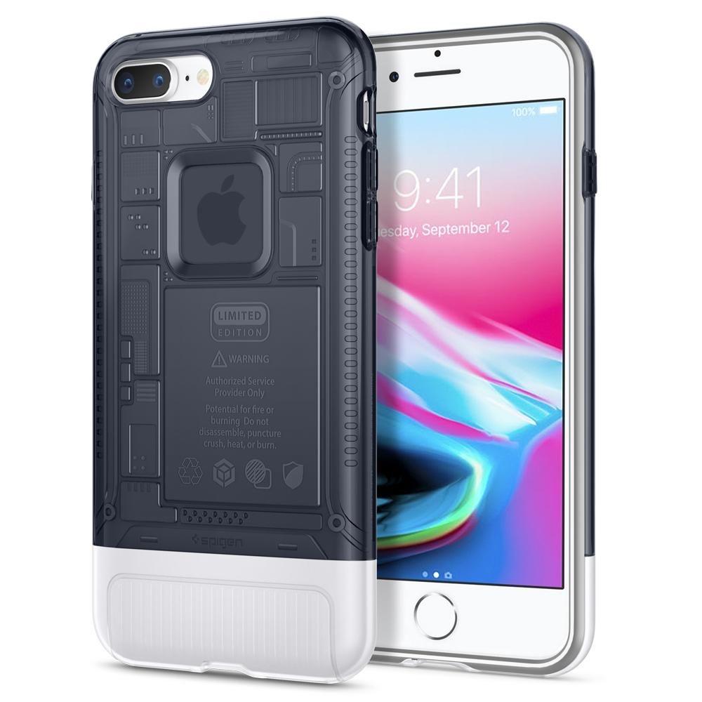 Spigen Θήκη Classic C1 - 10th Anniversary Limited Edition - iPhone 8 Plus / 7 Plus - Graphite (055CS24410)