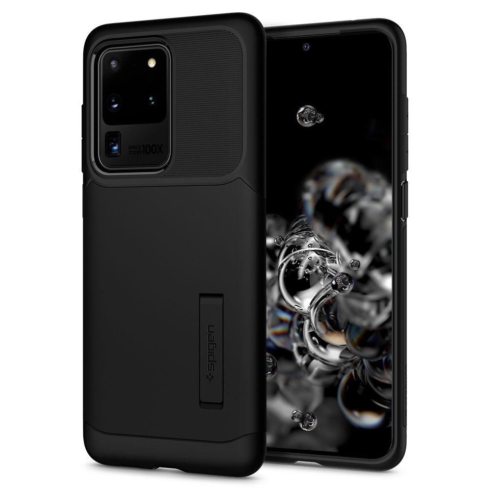 Spigen Θήκη Slim Armor Samsung Galaxy S20 Ultra - Black (ACS00636)