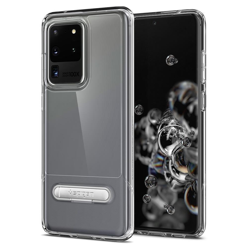 Spigen Θήκη Slim Armor Essential S Samsung Galaxy S20 Ultra - Crystal Clear (ACS00639)