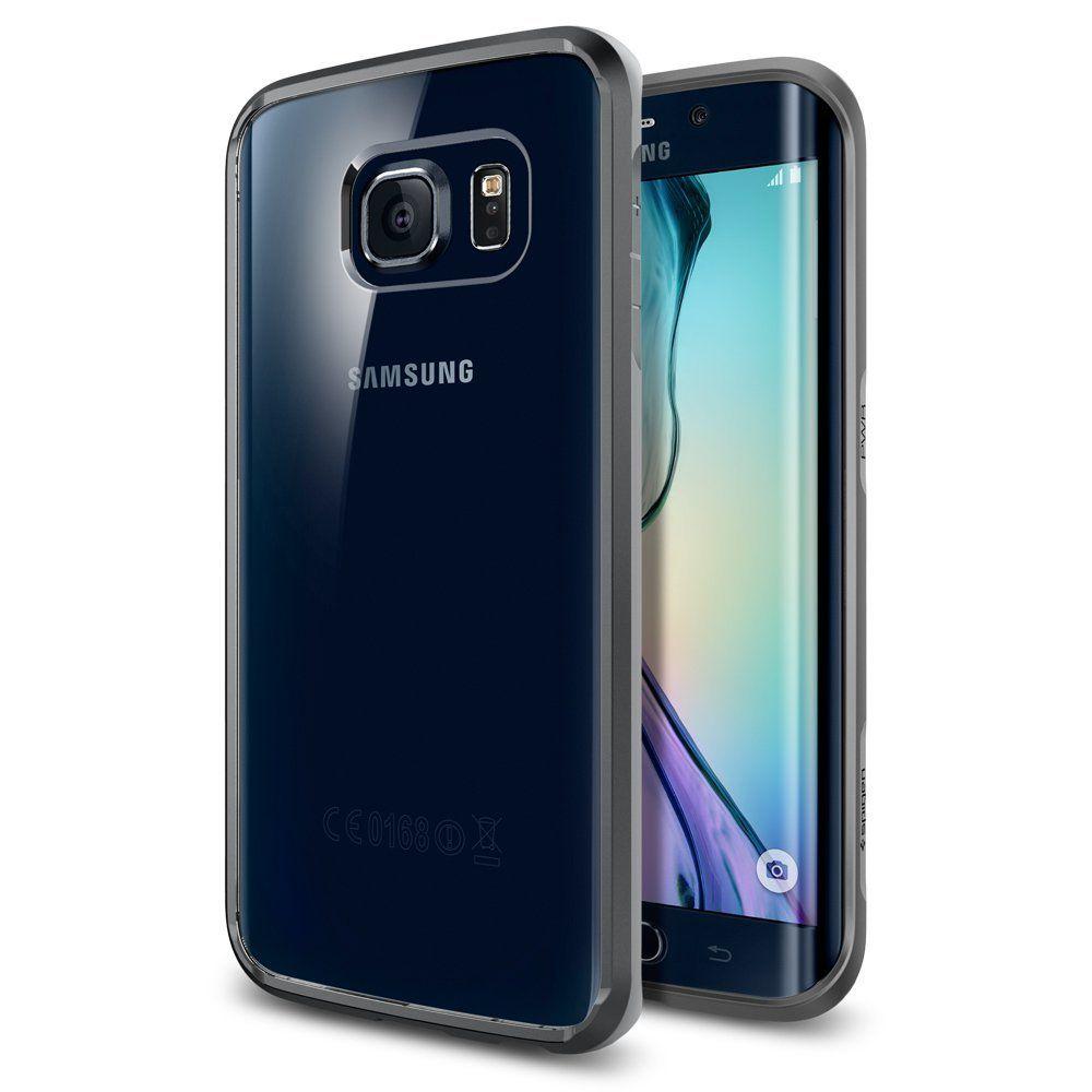 Spigen Θήκη Ultra Hybrid Samsung Galaxy S6 Edge - Gunmetal (SGP11417)