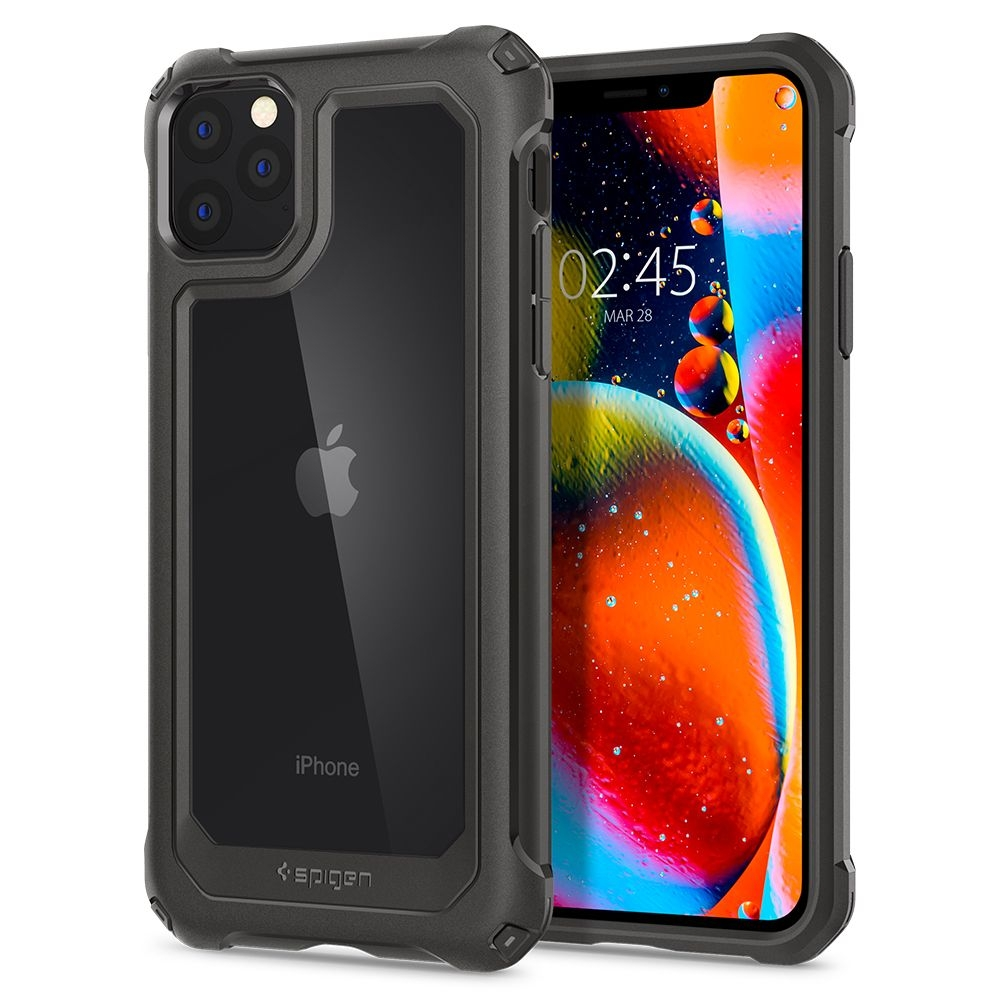 Spigen Gaunlet Θήκη iPhone 11 Pro - Gunmetal (077CS27516)