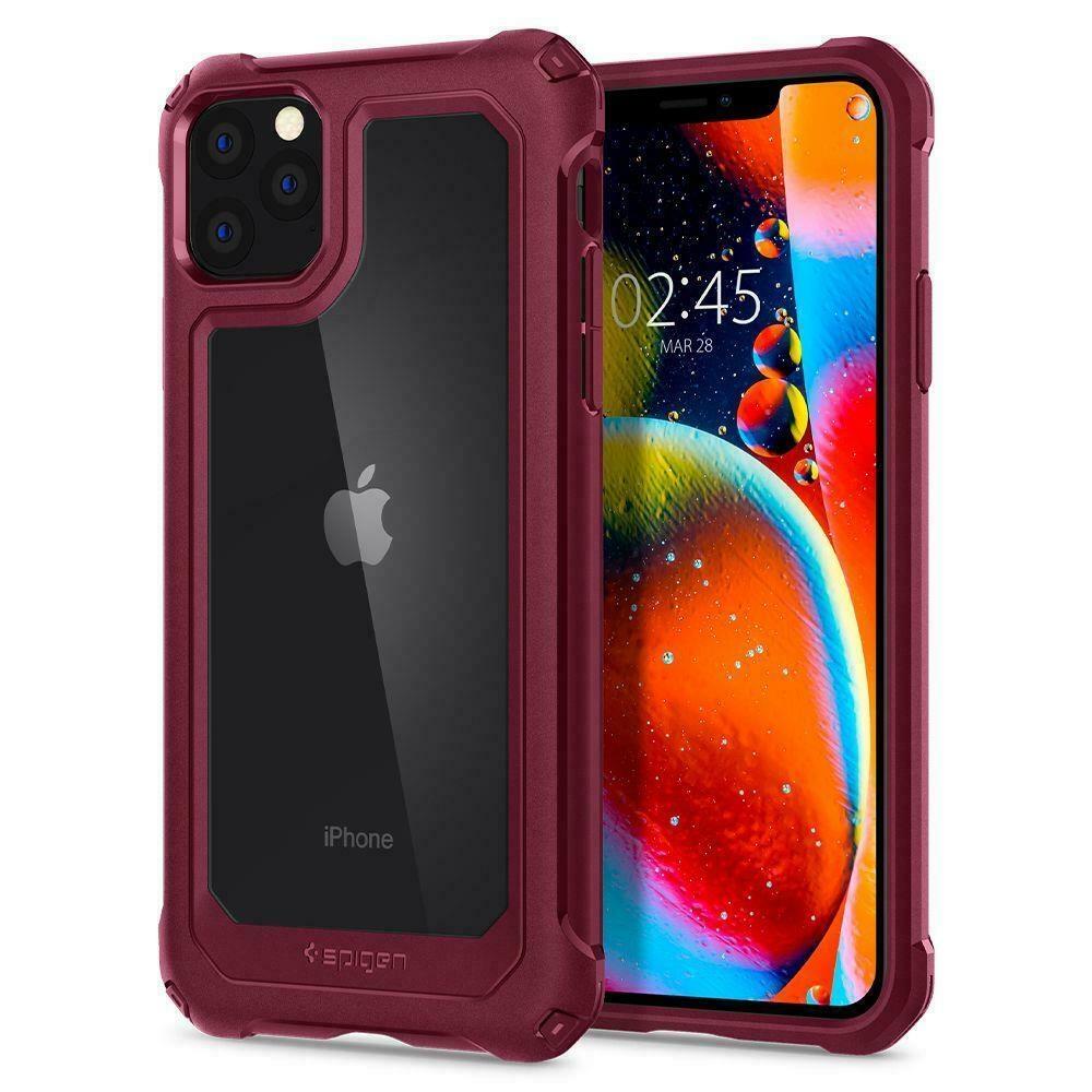 Spigen Gaunlet Θήκη iPhone 11 Pro Max- Iron Red (075CS27498)