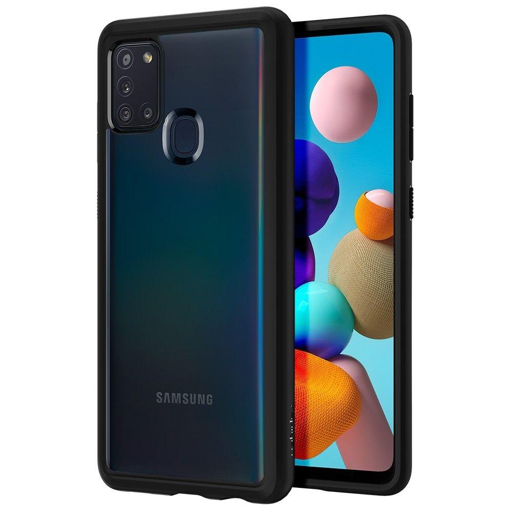 Spigen Θήκη Ultra Hybrid Samsung Galaxy A21s - Black (ACS00976)