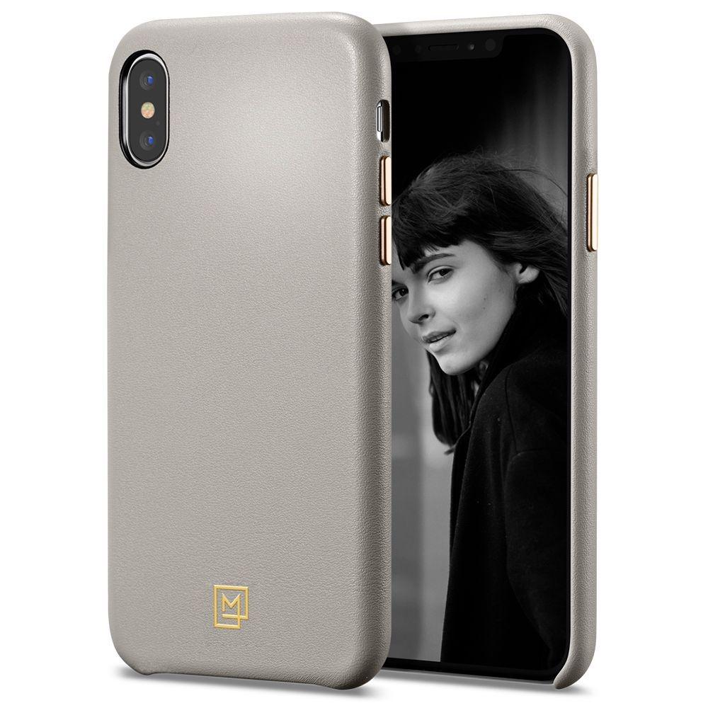 Spigen Θήκη La Manon Calin iPhone XS Max - Oatmeal Beige (065CS25093)