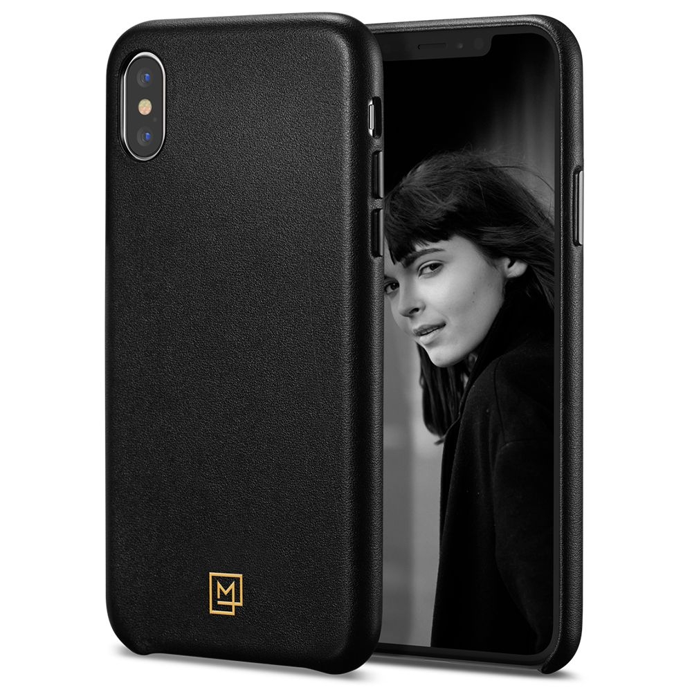 Spigen Θήκη La Manon Calin iPhone X / XS - Chic Black (063CS25321)