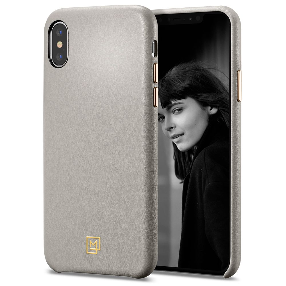 Spigen Θήκη La Manon Calin iPhone X / XS - Oatmeal Beige (063CS25322)