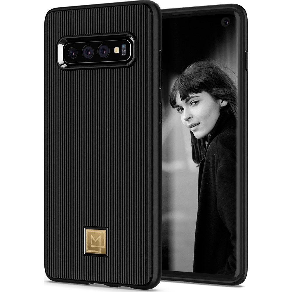 Spigen Θήκη La Manon Classy Samsung Galaxy S10 - Black (605CS25820)