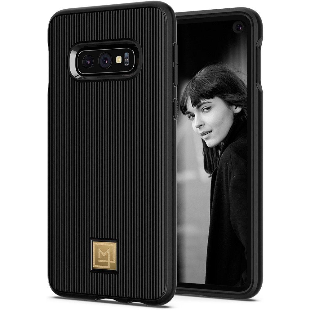 Spigen Θήκη La Manon Classy Samsung Galaxy S10e - Black (609CS25856)