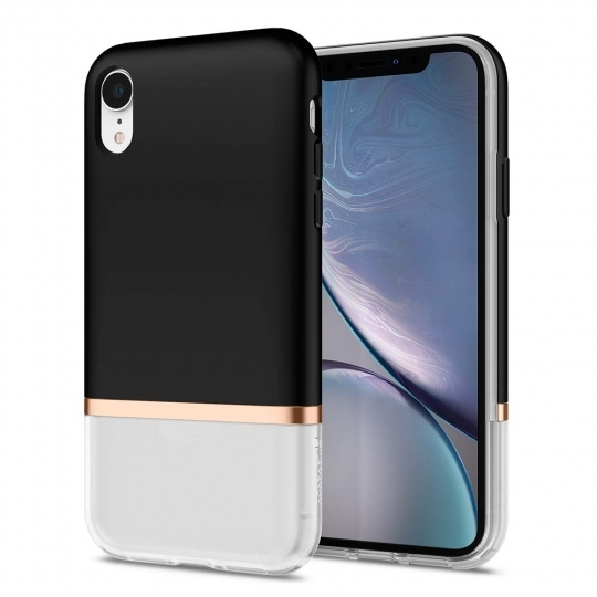 Spigen Θήκη La Manon Jupe iPhone XR - Black (064CS25372)