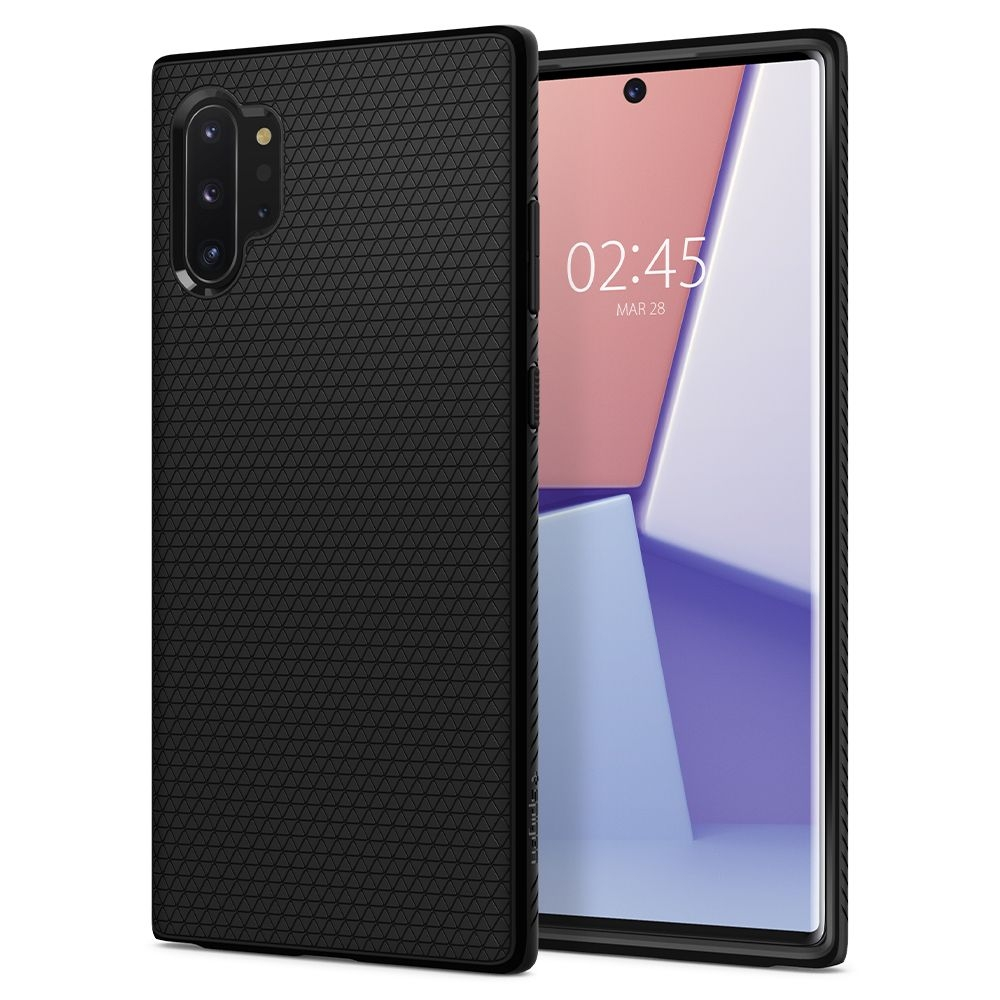 Spigen Θήκη Liquid Air Samsung Galaxy Note 10 Plus - Black (627CS27330)