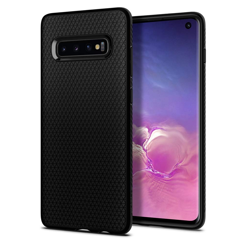 Spigen Θήκη Liquid Air Samsung Galaxy S10 - Black (605CS25799)