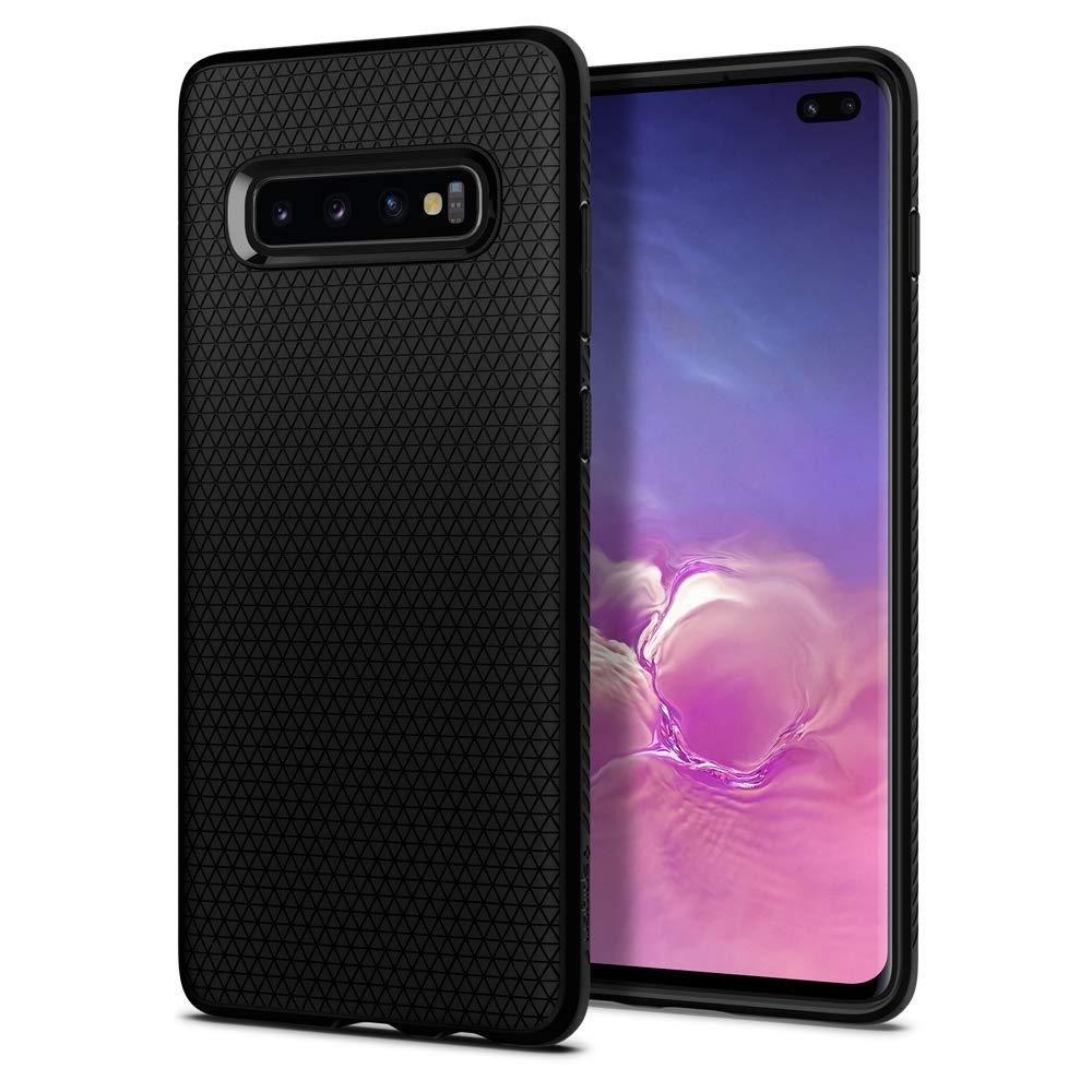 Spigen Θήκη Liquid Air Samsung Galaxy S10 Plus - Black (606CS25764)