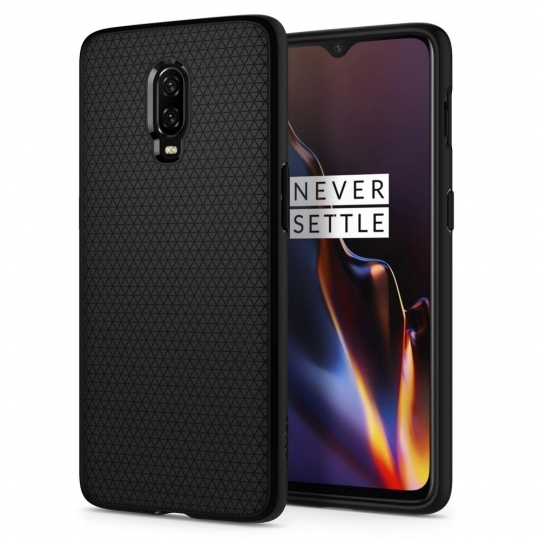 Spigen Θήκη Liquid Air OnePlus 6T - Matte Black (K07CS25308)