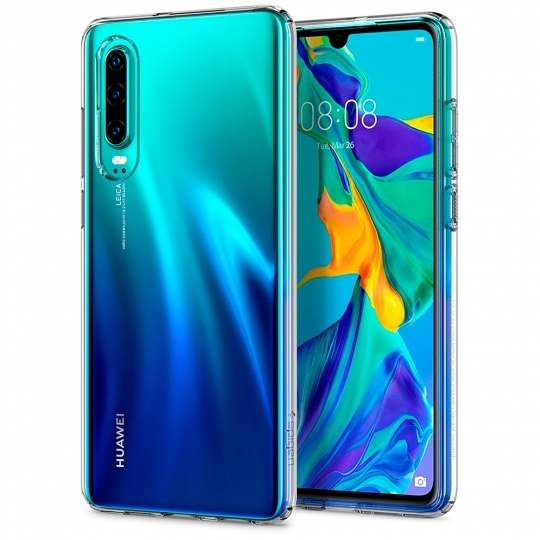 Spigen Θήκη TPU Liquid Crystal Huawei P30 - Crystal Clear (L38CS25736)