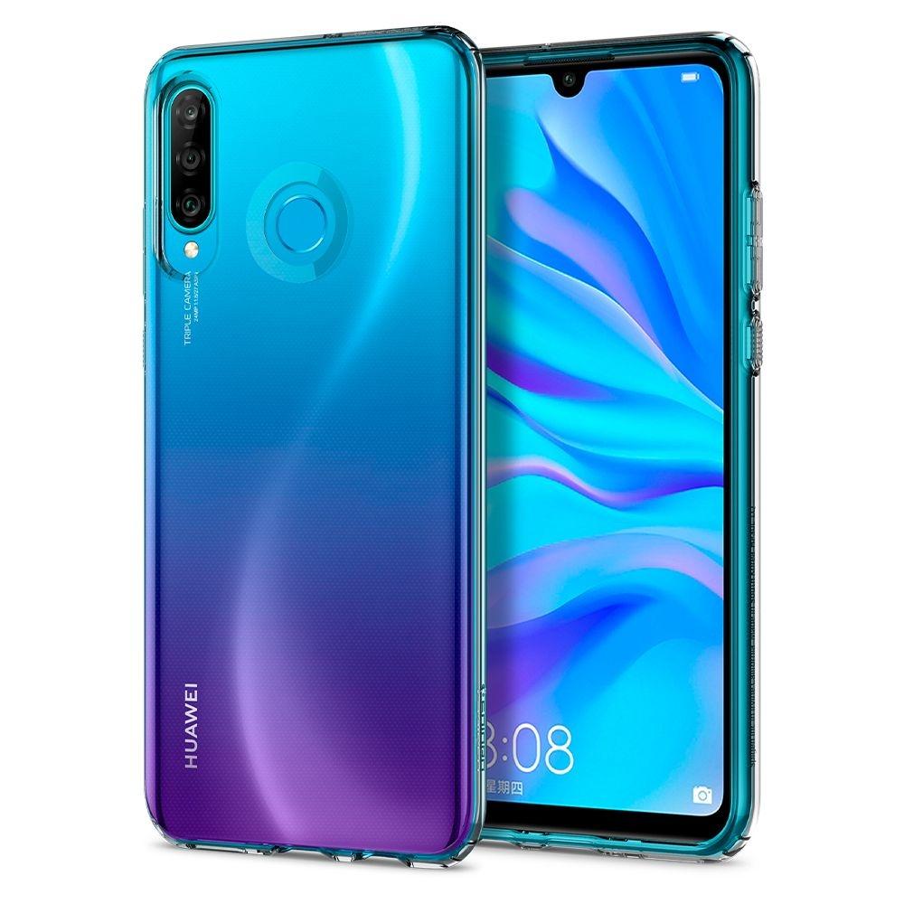 Spigen Θήκη TPU Liquid Crystal Huawei P30 Lite - Crystal Clear (L39CS25740)