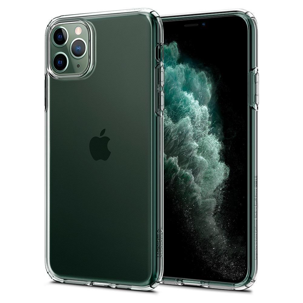 Spigen Θήκη TPU Liquid Crystal iPhone 11 Pro Max - Crystal Clear (075CS27129)