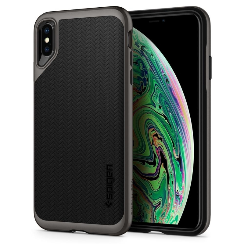 Spigen Θήκη Neo Hybrid iPhone XS Max - Gunmetal (065CS24838)