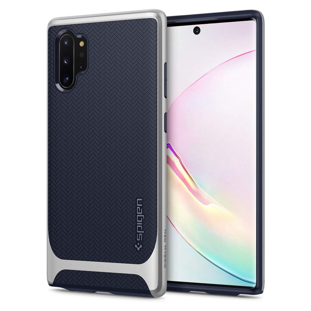 Spigen Θήκη Neo Hybrid Samsung Galaxy Note 10 Plus - Arctic Silver (627CS27341)
