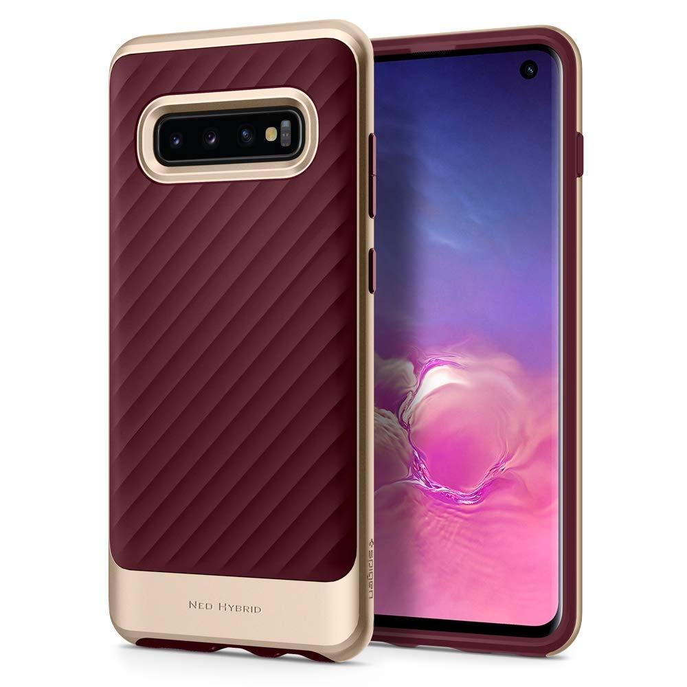 Spigen Θήκη Neo Hybrid Samsung Galaxy S10 - Burgundy (605CS25810)