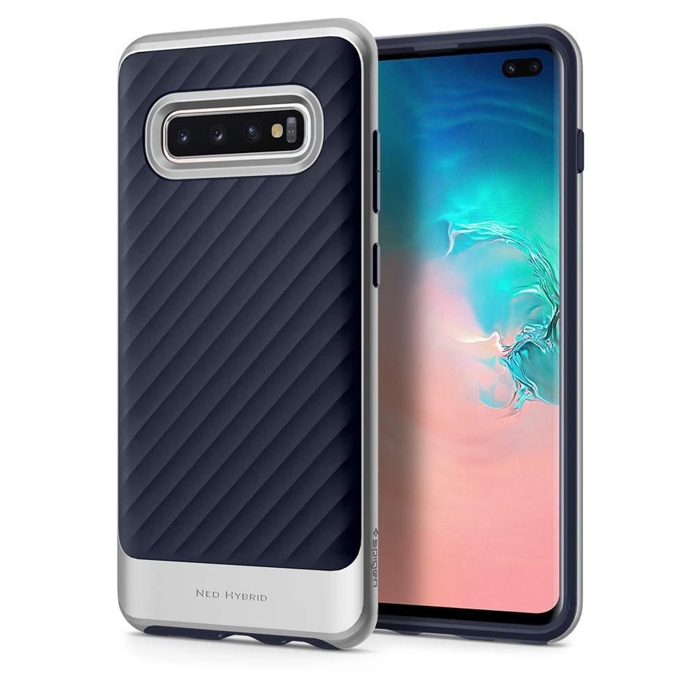 Spigen Θήκη Neo Hybrid Samsung Galaxy S10 Plus - Arctic Silver (606CS25776)