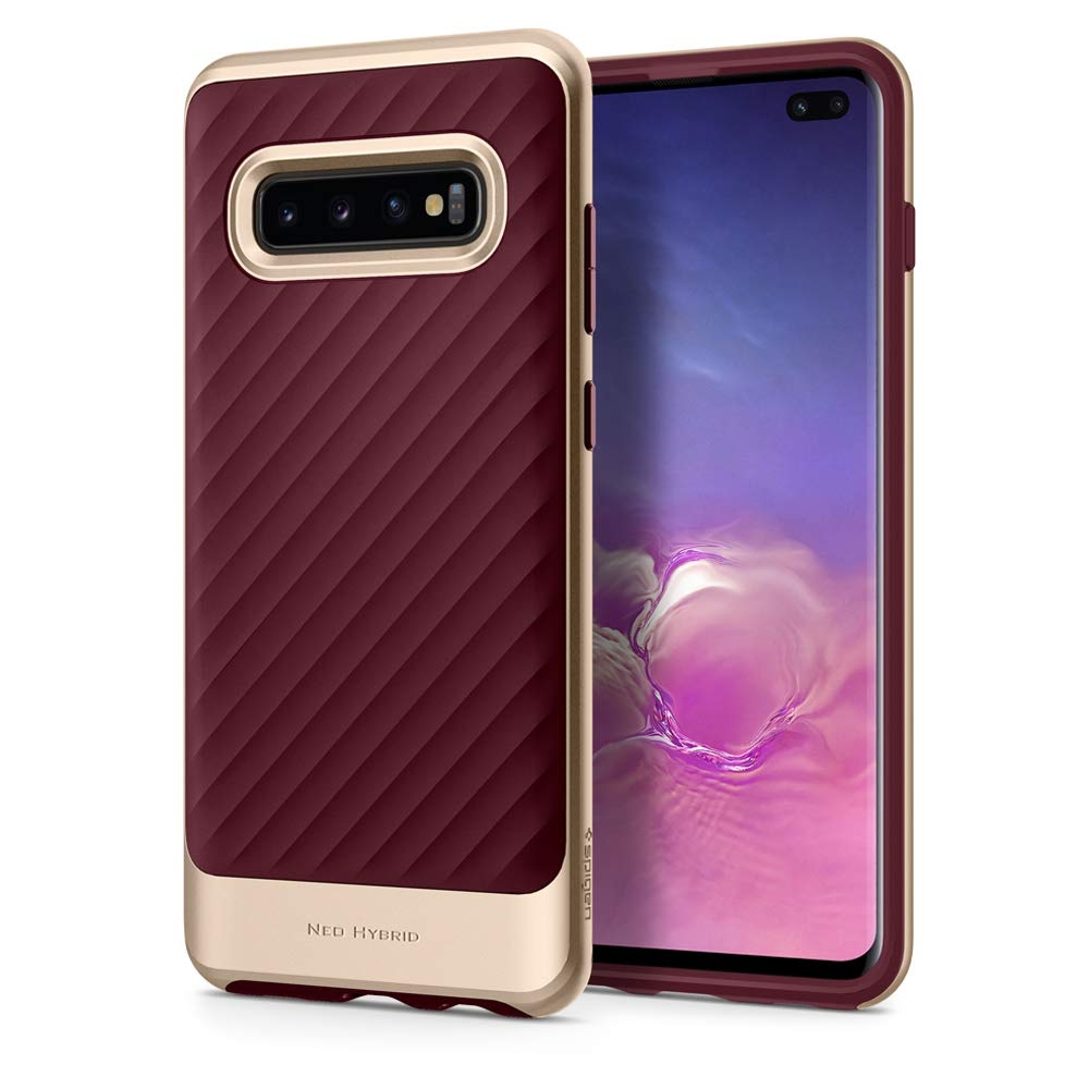 Spigen Θήκη Neo Hybrid Samsung Galaxy S10 Plus - Burgundy (606CS25775)