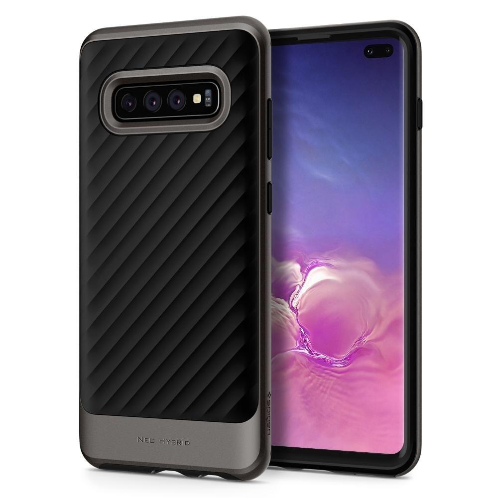 Spigen Θήκη Neo Hybrid Samsung Galaxy S10 Plus - Gunmetal (606CS25774)
