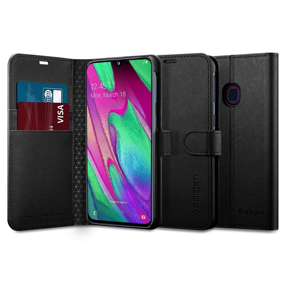 Spigen Wallet S - Θήκη-Πορτοφόλι Samsung Galaxy A40 (618CS26246)