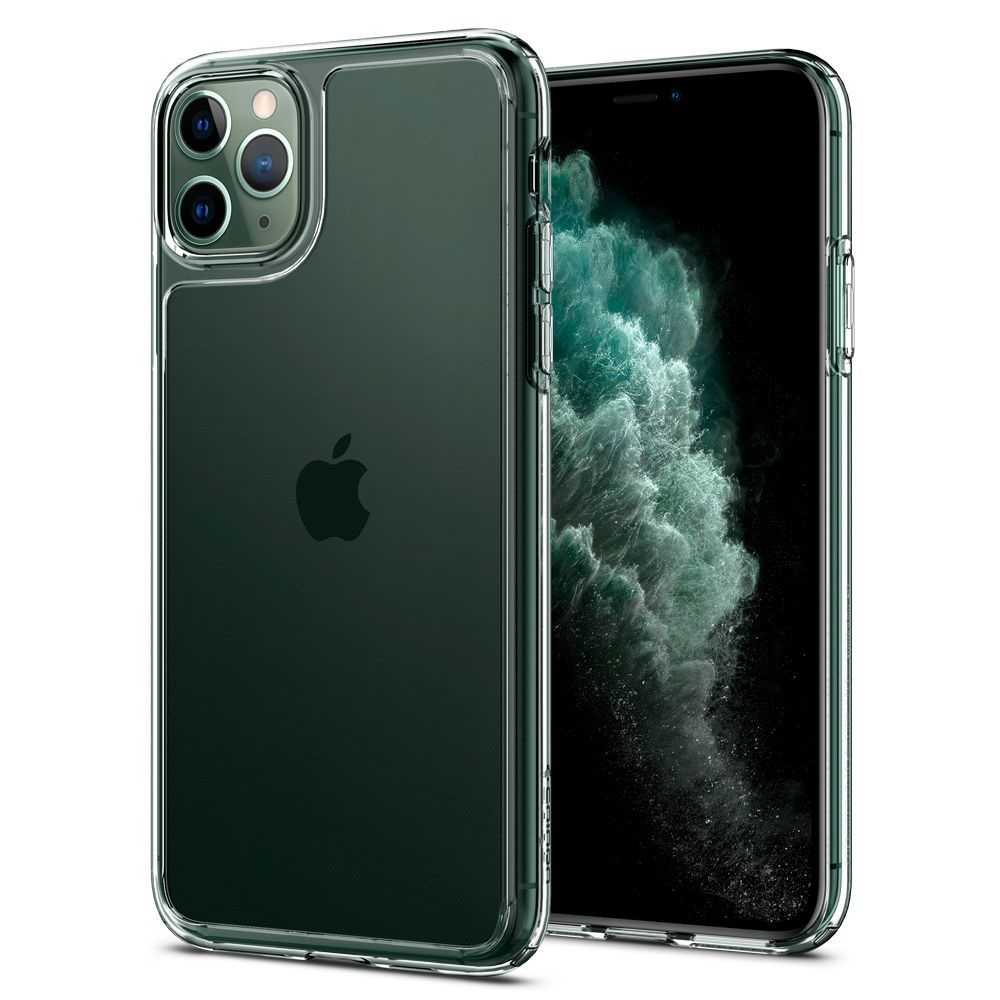 Spigen Quartz Hybrid Θήκη iPhone 11 Pro - Crystal Clear (077CS27237)