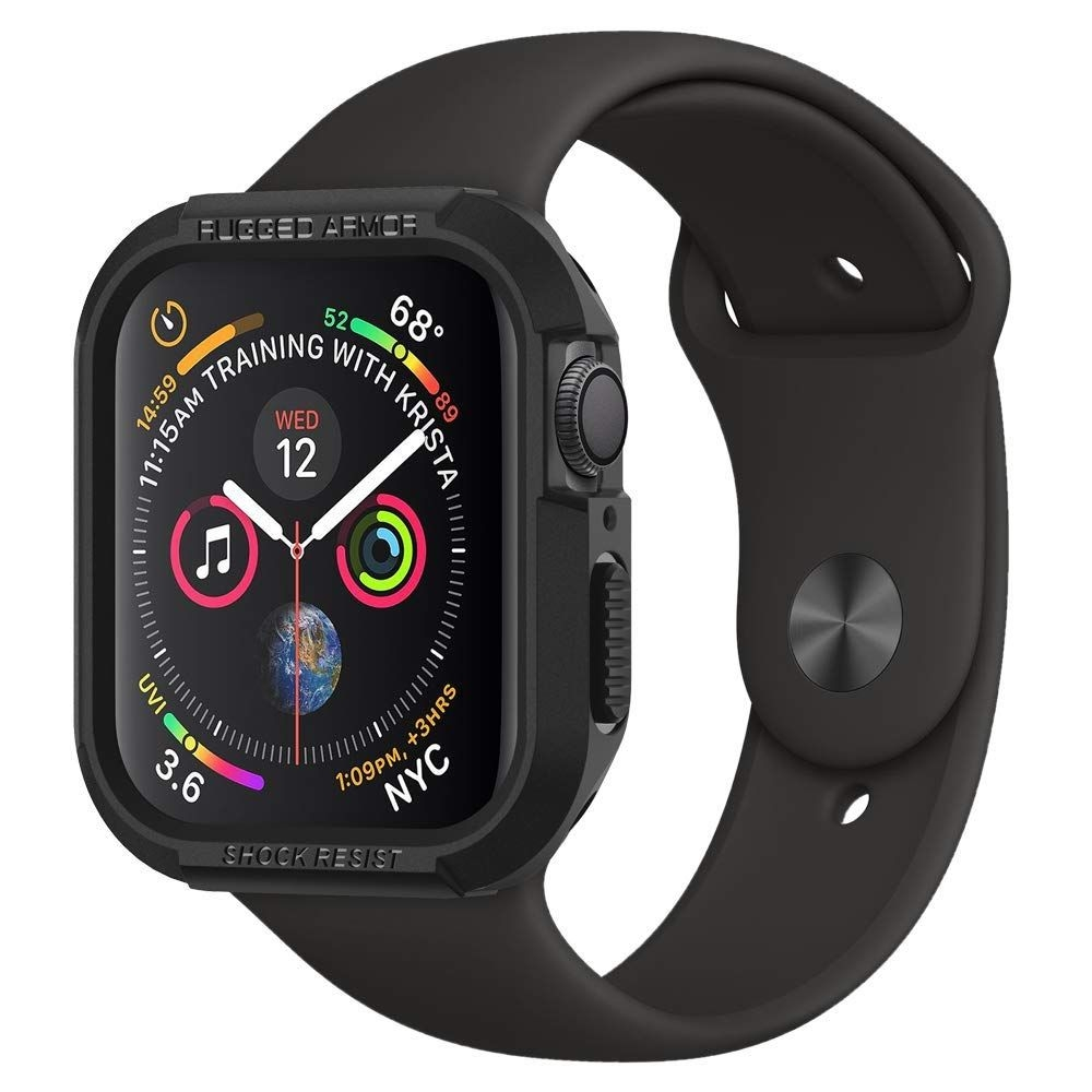 Spigen Θήκη Tough Rugged Armor Apple Watch Series 5/4 (40mm) - Black (061CS24480)