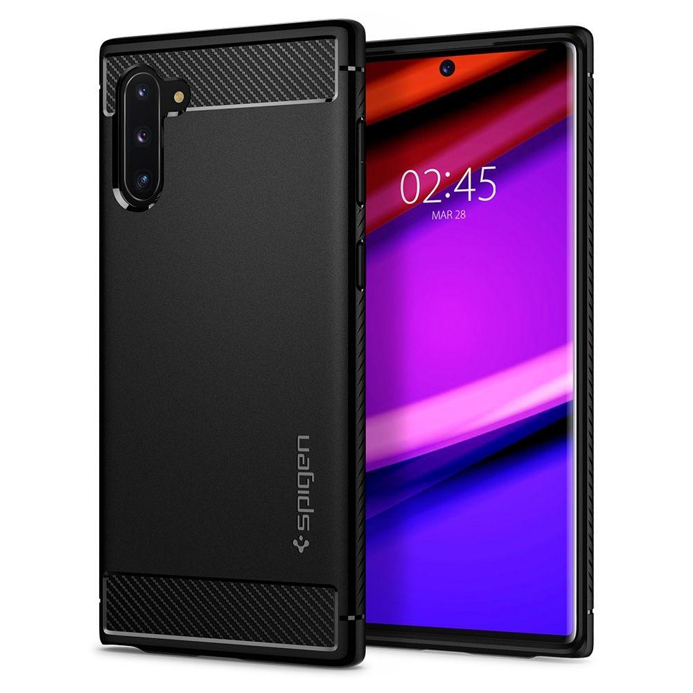Spigen Θήκη Rugged Armor Samsung Galaxy Note 10 - Black Matte (628CS27374)
