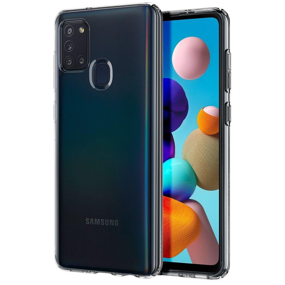 Spigen Θήκη Liquid Crystal Samsung Galaxy A21s - Crystal Clear (ACS00975)