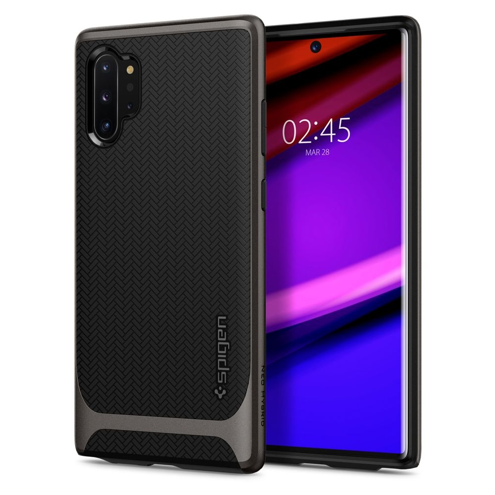 Spigen Θήκη Neo Hybrid Samsung Galaxy Note 10 Plus - Gunmetal (627CS27339)