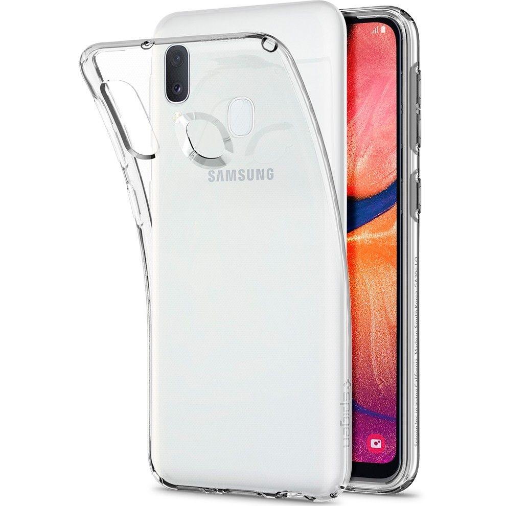 Spigen Θήκη TPU Liquid Crystal Samsung Galaxy A20e - Crystal Clear (622CS27412)